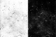 Schmutz- und Kornpanelüberlagerungen Stockbild