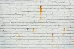 Schmutz verwittertes Ziegelstein-Blockwand Hintergrund-Muster Stockbilder