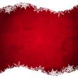 Schmutz-Weihnachtsschneeflockenhintergrund stock abbildung