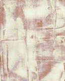 Schmutzaquarell-Acrylmalerei Abstraktes Braun Stockfotografie