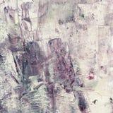 Schmutzaquarell-Acrylmalerei Abstraktes Braun Stockbild