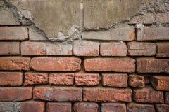 Schmutzbacksteinmauer in Georgia stockfoto