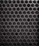 Schmutzbeschaffenheit des Blechtafelhintergrundes mit Löchern lizenzfreie abbildung