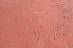 Schmutzbeschaffenheitshintergrund der Wand in einem roten Ton lizenzfreie stockfotografie