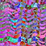 Schmutzbeschaffenheitsweinlese-Artzusammenfassung violett, Blau und Rosa Stockfotos