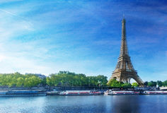 Schmutzbild des Eiffelturms Lizenzfreie Stockfotos
