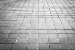 Schmutzbodenfliesen und quadratische Formbeschaffenheit Stockfotografie