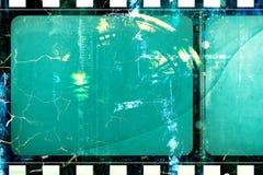 Schmutzfilmrahmen stock abbildung