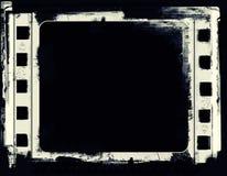 Schmutzfilmrahmen mit Raum für Text oder Bild Stockfotografie