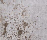 Schmutzflecke auf der Wand stock abbildung