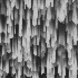 Schmutzhalbton punktiert Beschaffenheitshintergrund Grenzrahmen Tun Sie vektor abbildung