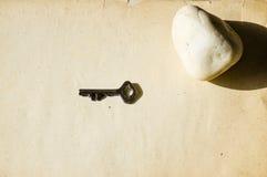 Schmutzhintergrund mit offenem Raum Lizenzfreies Stockfoto
