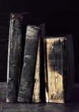 Schmutzige alte Bücher Lizenzfreie Stockfotografie