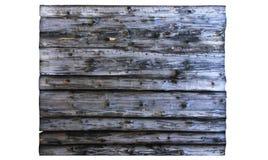 Schmutzige blaue große hölzerne Anschlagtafel lokalisiert auf Weiß Hölzerne Beschaffenheit alte Panels des Hintergrundes Lizenzfreie Stockbilder