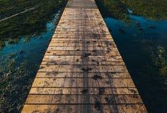 Schmutzige Brücke Stockfotografie