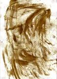 Schmutzige Fingerabdrücke auf Papier Stockbild