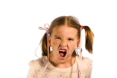 Schmutzige Kind-Serie - das Gör Stockbilder