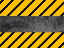 Schmutzige Metallbeschaffenheit - industriell - Warnen Lizenzfreie Stockfotografie