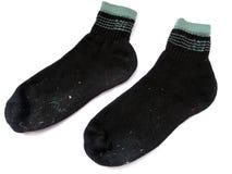 Schmutzige Socken Stockfotografie