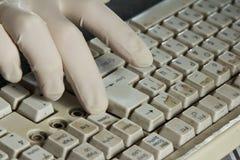 Schmutzige Tastatur Lizenzfreie Stockfotos