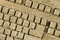 Schmutzige Tastatur stockbild