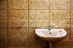 Schmutzige Toilette Lizenzfreie Stockbilder