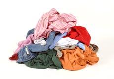 Schmutzige Wäscherei lizenzfreies stockbild