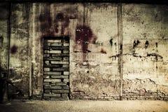 Schmutzige Wand Lizenzfreies Stockfoto