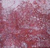 Schmutzige Wand mit crannied Zementputz Lizenzfreie Stockfotos