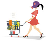 Schmutzige Wäscherei Lizenzfreie Stockbilder