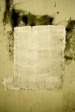 Schmutziger Anstrich in der Wand Stockfotos