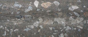 Schmutziger Beton und Felsen innerhalb der Beschaffenheit Lizenzfreie Stockfotografie