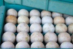 Schmutziger Golfball Lizenzfreies Stockbild