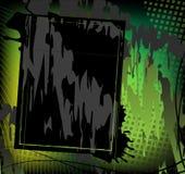 Schmutziger grüner Hintergrund Lizenzfreie Stockfotografie