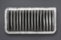 Schmutziger Luftfilter Lizenzfreie Stockfotografie