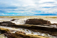 Schmutziger Ozean Lizenzfreie Stockfotografie