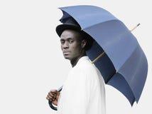 Schmutziger Regenschirm Stockbild