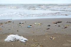 Schmutziger Strand Lizenzfreie Stockbilder