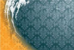 Schmutziger Tapetenvektor lizenzfreie abbildung