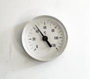 Schmutziger Thermometer lizenzfreie stockfotografie