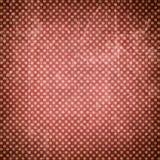 Schmutziger Weinlese-Hintergrund Retro- Muster mit Punkten und Beschaffenheiten Strukturierter alter Hintergrund (traditionelles  Stockfotografie