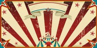 Schmutziger Zirkus der Einladung Stockbilder