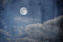 Schmutziges Bild des Schmutzes eines Mondes Stockbilder