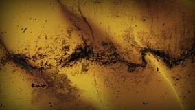 Schmutziges fahnenschwenkendes des orange Schmutzes auf Wind vektor abbildung