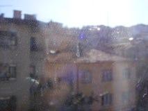 Schmutziges Fenster Lizenzfreie Stockbilder