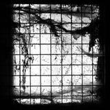 Schmutziges Fenster Lizenzfreies Stockfoto
