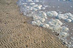 Schmutziges Meer Stockfotografie