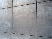 Schmutziges quadratisches Muster Grey Sidewalk Stockfotos