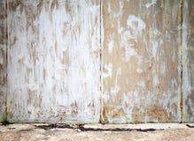 Schmutzinnenhintergrund, alte Betonmauer Stockfoto
