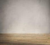 Schmutzinnenraum, Weinlese alterte alten Holzfußboden Stockfotografie
